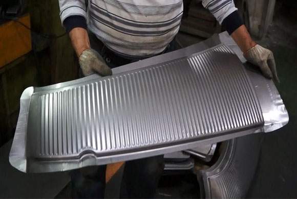 Steel Grille - Stamping